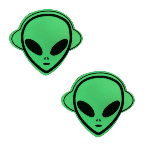 Glow in the Dark Alien Pasties NN-GLO-ALI-NS