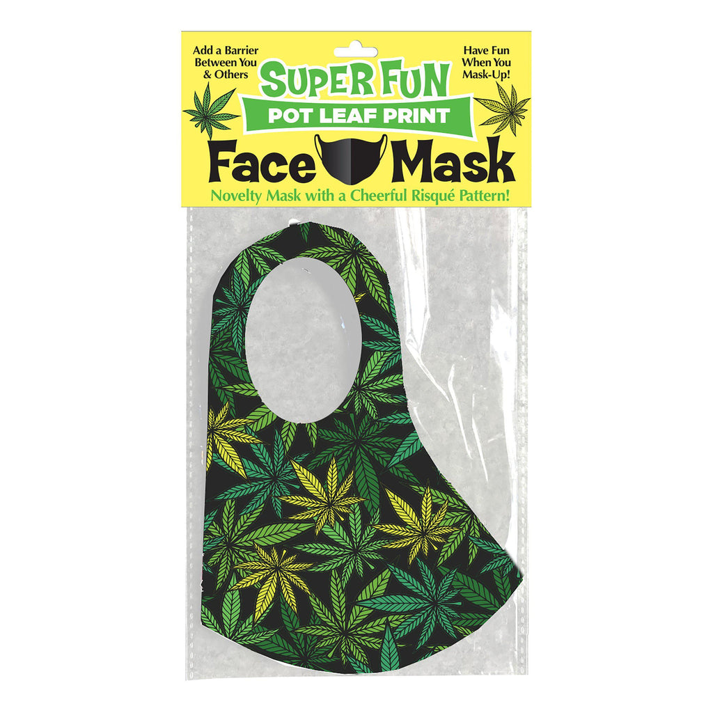 Super Fun Pot Leaf Mask LG-CP1017
