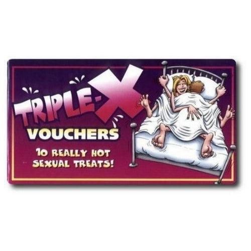 Triple-X Vouchers OZ-VB-03E