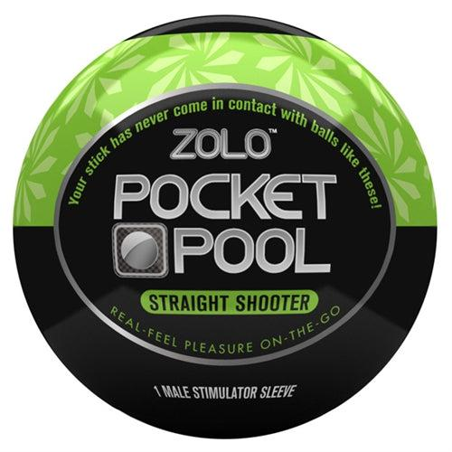 Pocket Pool Straight Shooter ZOLO-PP-STS