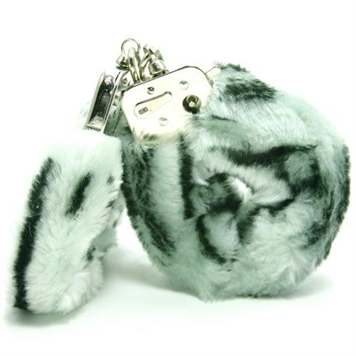 Plush Love Cuffs - Zebra GT2089-9