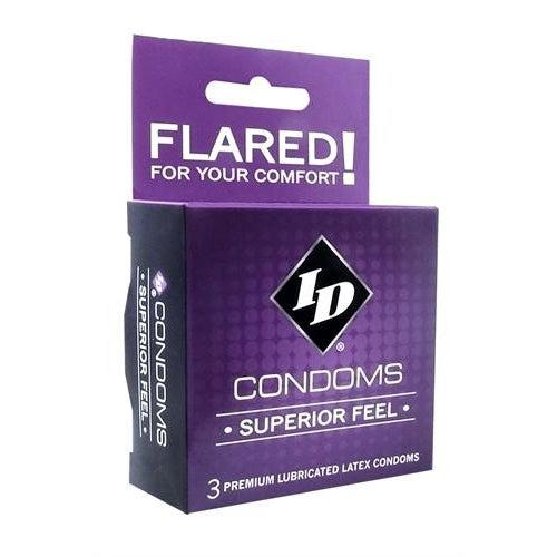 ID Superior Feel Condoms - 3 Pack ID-WSF-03