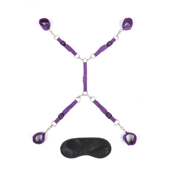 7pc Bed Spreader - Purple EL-LF1328-PUR
