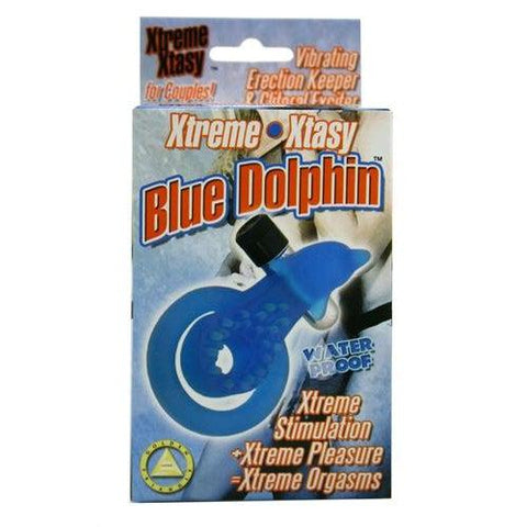 Xtreme Xtasy Ring Dolphin C-Ring - Blue GT598-1