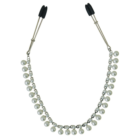 Sincerely Pearl Chain Nipple Clips SS520-33