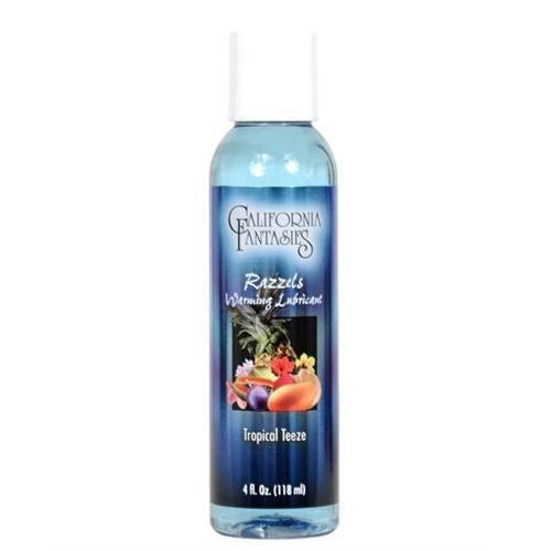 Razzels Warming Lubricant - Tropical Teeze - 4 Oz. Bottle CF-RTT-04