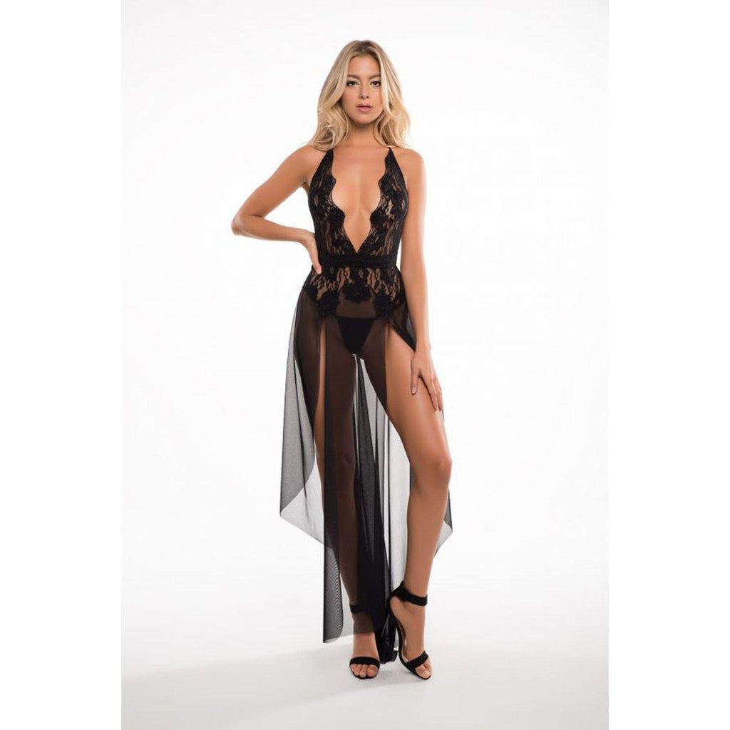 Freya Le Reve Nightdress - Black - L/xl ALR-A1061-LXL