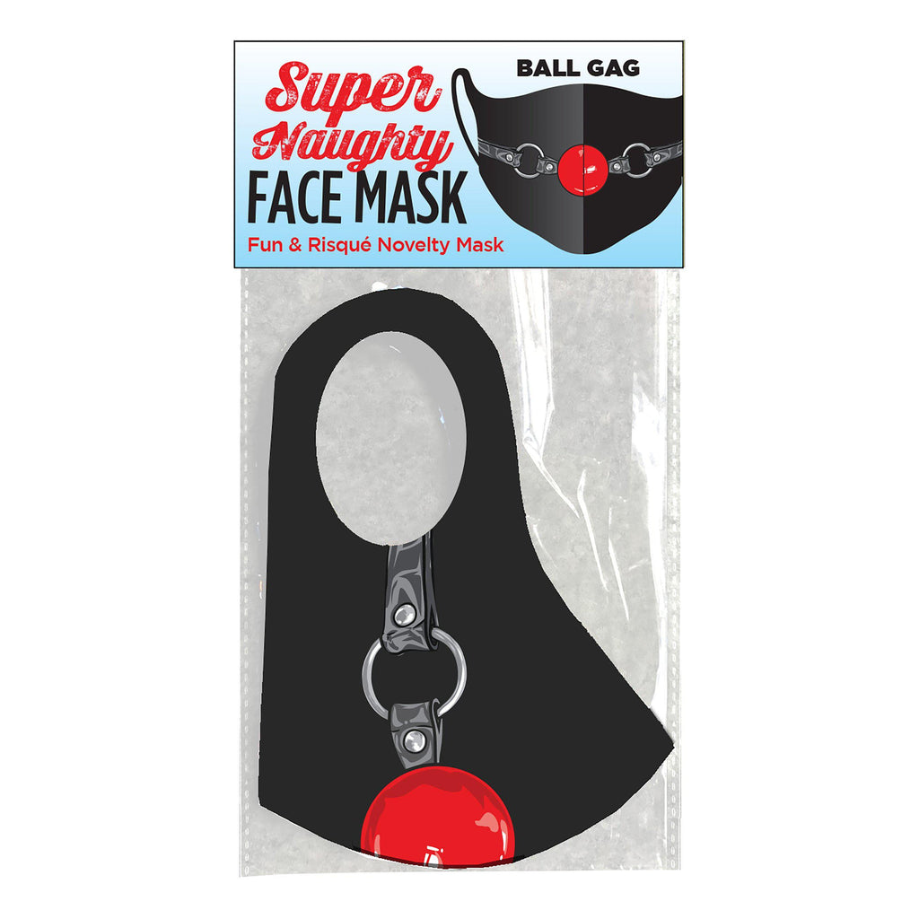 Super Naughty Ball Gag Face Mask LG-CP1022