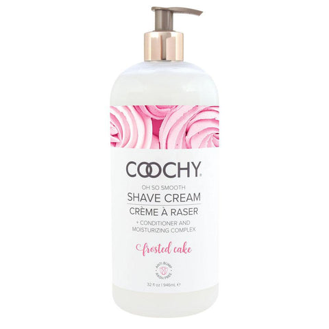 Coochy Shave Cream Frosted Cake 32 Oz COO1003-32