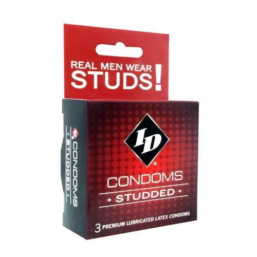 ID Studded Condoms - 3 Pack ID-WST-03