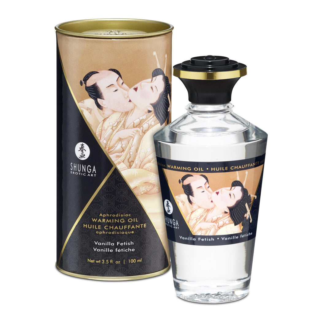 Aphrodisiac Warming Oil - Vanilla Fetish SHU2207