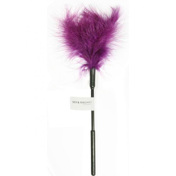 Sex and Mischief Feather Tickler - Purple