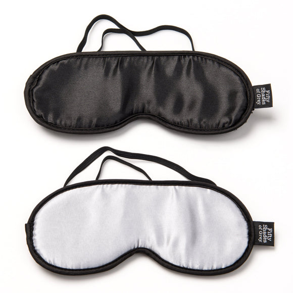 Fifty Shades of Grey No Peeking Soft Twin  Blindfold Set LHR-40177