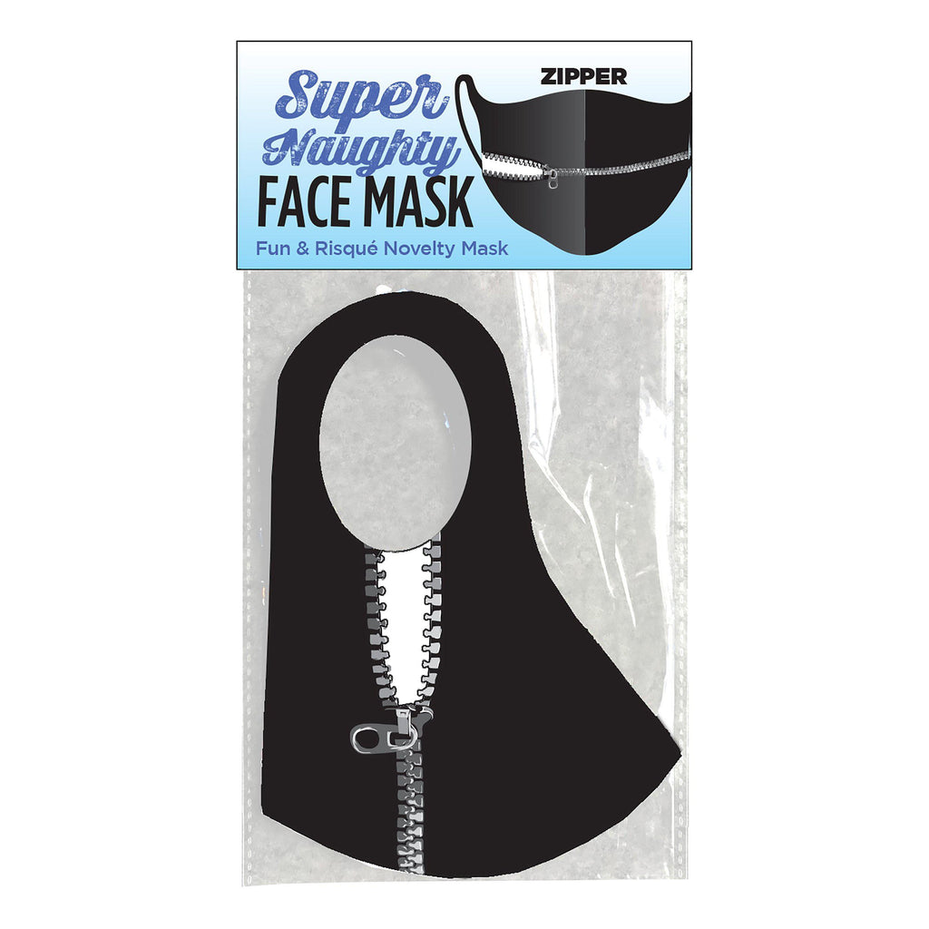 Super Naughty Zipper Face Mask LG-CP1024