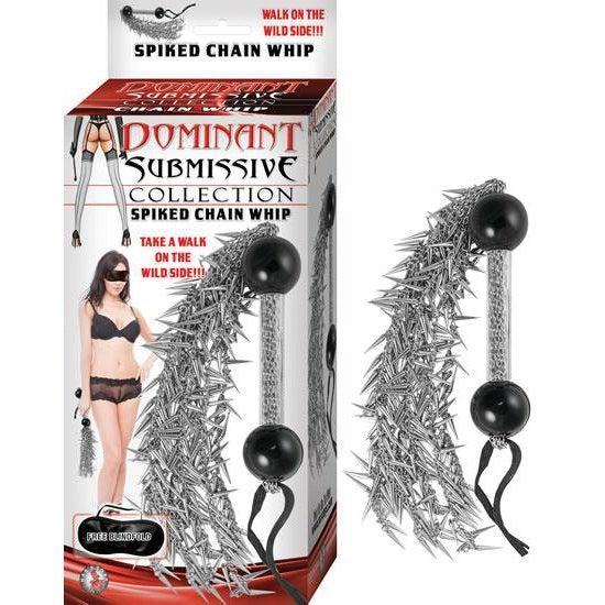 Dominant Submissive Collection Spiked Chain Spiked Chain Whip NW2758