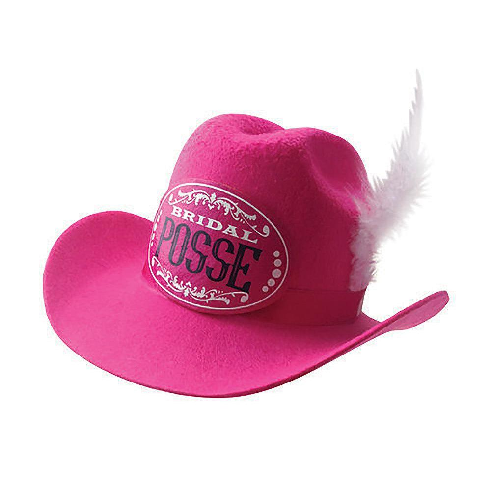 Gettin' Hitched Clip-on Cowgirl Posse Party Hat LG-NVC057