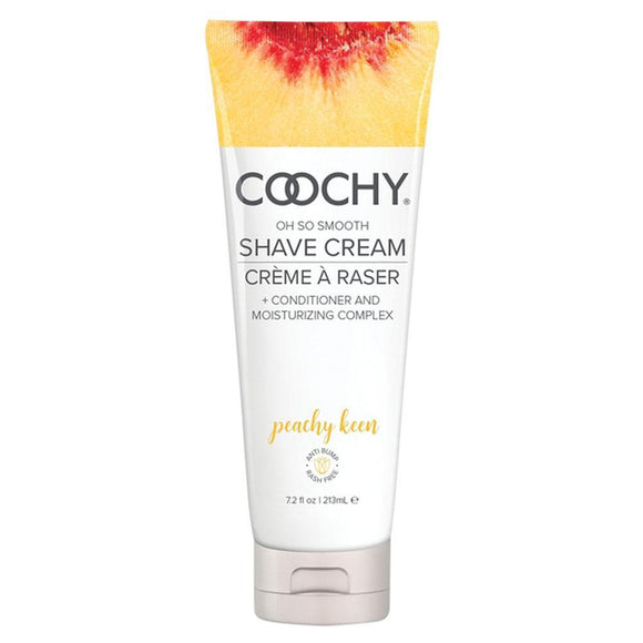 Coochy Oh So Smooth Shave Cream - Peachy Keen 7.2 Fl Oz 213ml COO1014-07