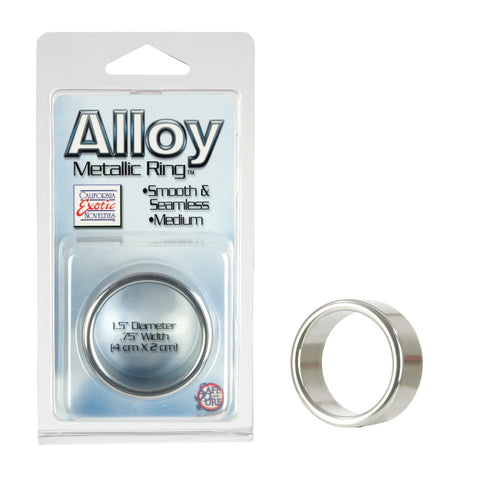Image of Alloy Metallic Ring - Medium