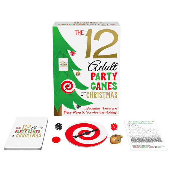 The 12 Adult Party Games of Christmas KG-XM008
