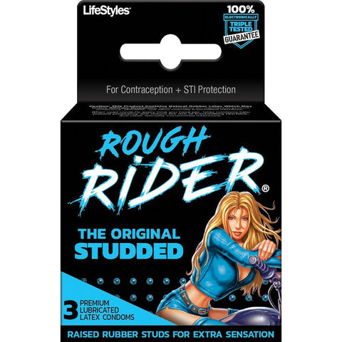 Rough Rider - Original Studded - 3 Pack LS9860