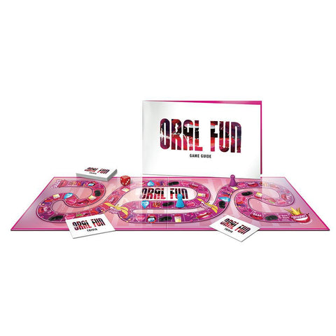 Oral Fun - the Game of Eating Out Whilst Staying  In! CC-USOF