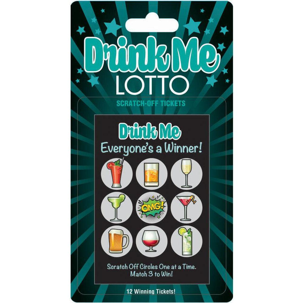 Drink Me Lotto 12 Winning Tickets! LG-BG068