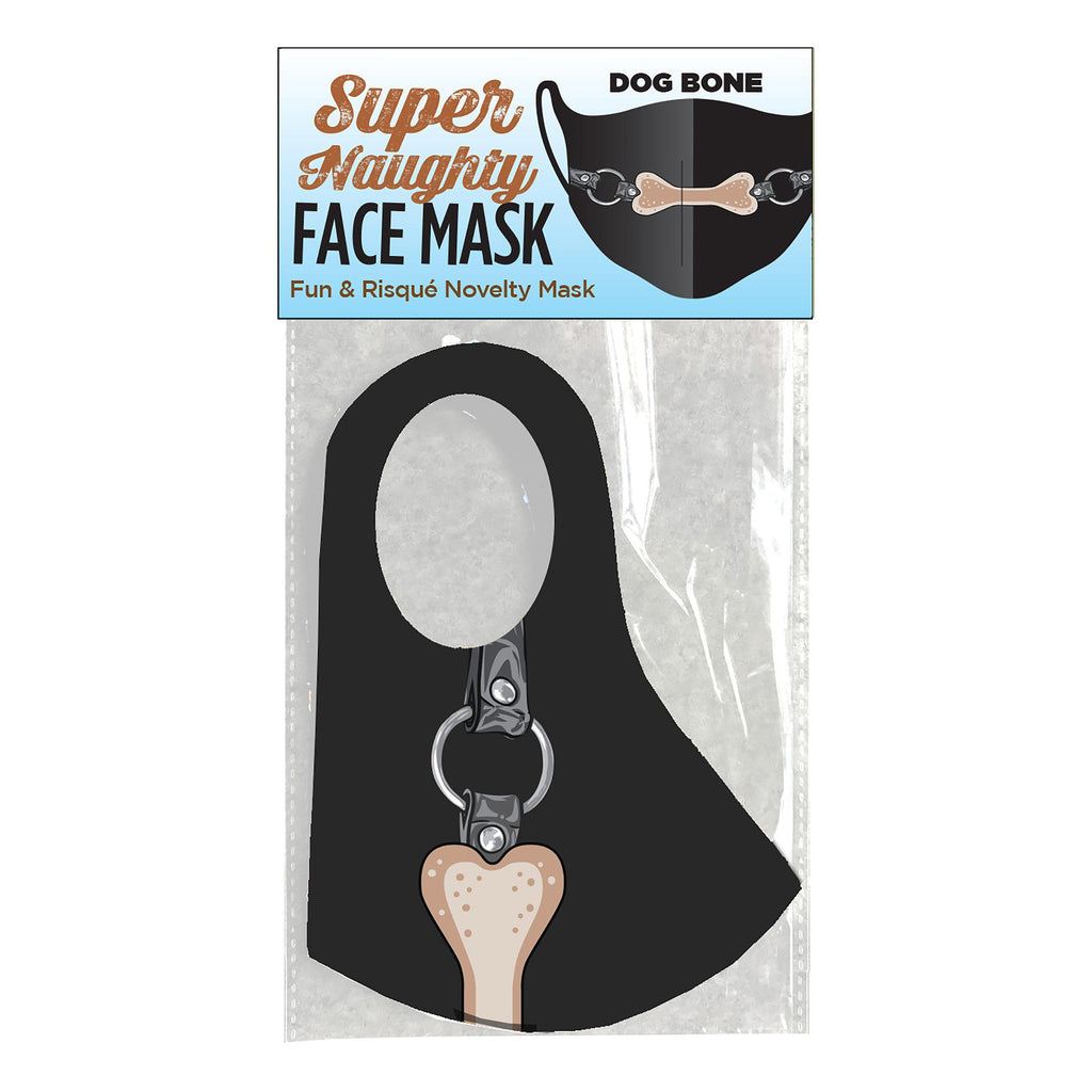 Super Naughty Dog Bone Ball Gag Face Mask LG-CP1023