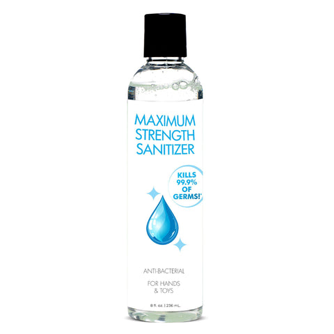 Maximum Strength Hand Sanitizer - 8 Fl. Oz./ 236 ml CS-AG501