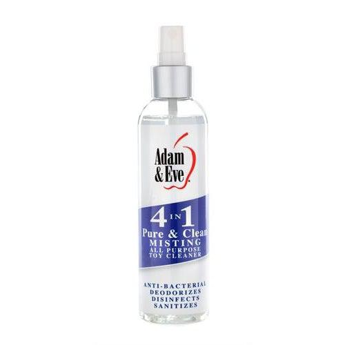 Adam and Eve 4 in 1 Pure and Clean Misting Toy   Cleaner 2 Oz AE-LQ-5676-2