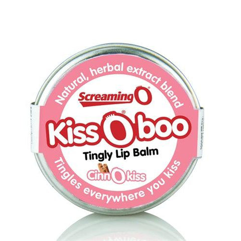 Kissoboo Tingly Lip Balm - Each - Cinnokiss KIS-CIN-110E
