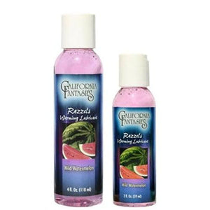 Razzels Warming Lubricant - Wild Watermelon - 4 Oz. Bottle CF-RWW-04