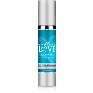 Endless Love for Men Stay Hard and Prolong Water Based Lubricant 1.7 Oz BA-ELMSP17