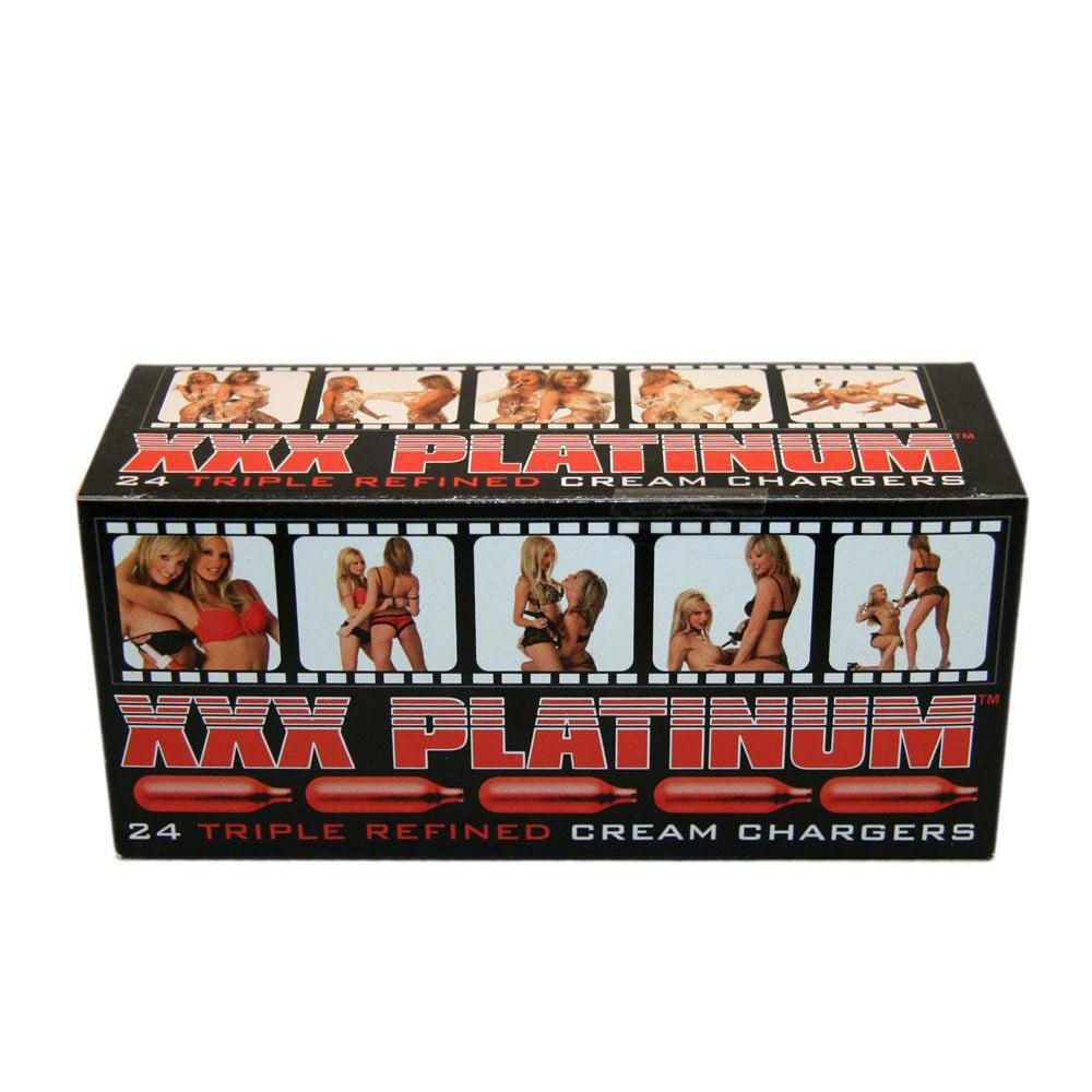 Xxx Platinum - Whip Cream Chargers - 24 Count JSM698