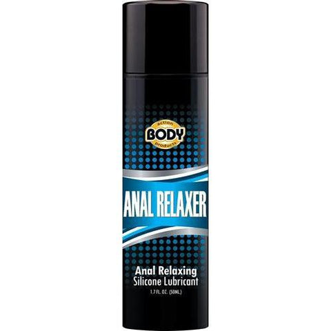 Body Action Anal Relaxer Silicone Lubricant 1.7 Oz BA-AR17