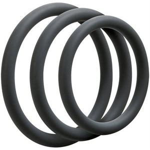 Optimale 3 Ring Set - Thin - Slate DJ0690-02