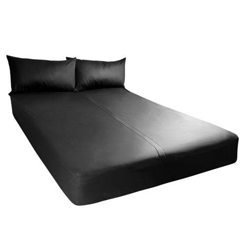 Exxxtreme Sheets - California King Size - Black SI-95203