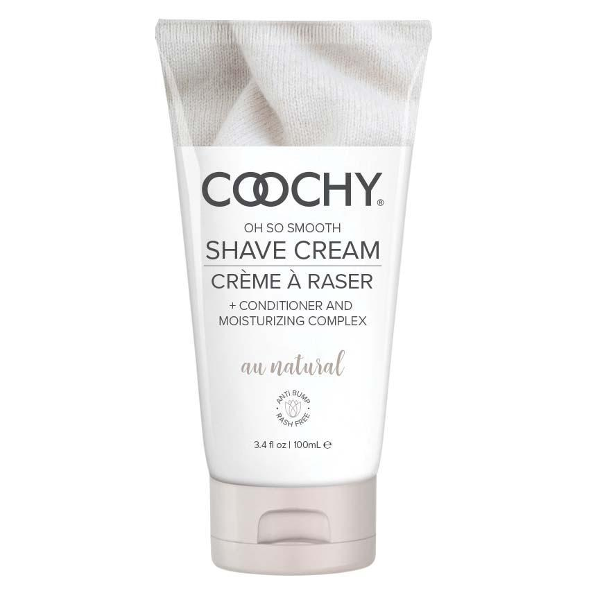 Coochy Shave Cream - Au Natural - 3.4 Oz COO1001-03