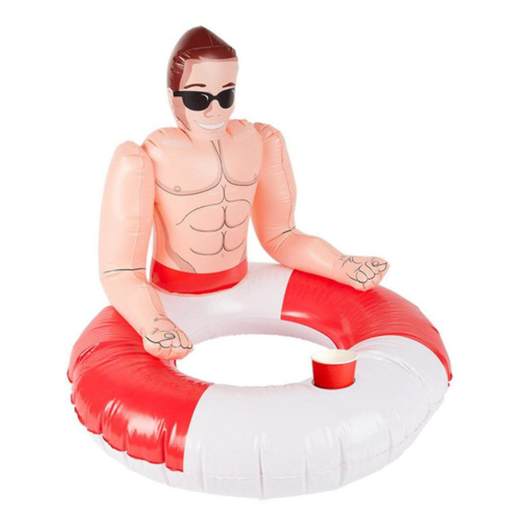 Inflatabale Lifeguard Hunk Swim Ring FV-50885