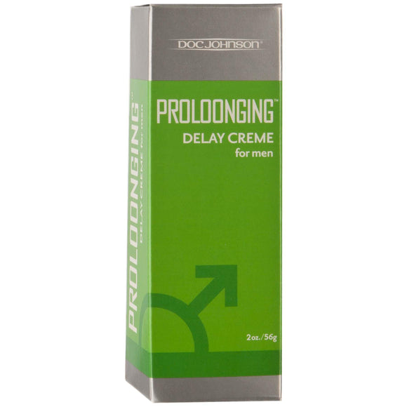 Proloonging Delay Cream for Men - 2 Oz. - Boxed DJ1310-01