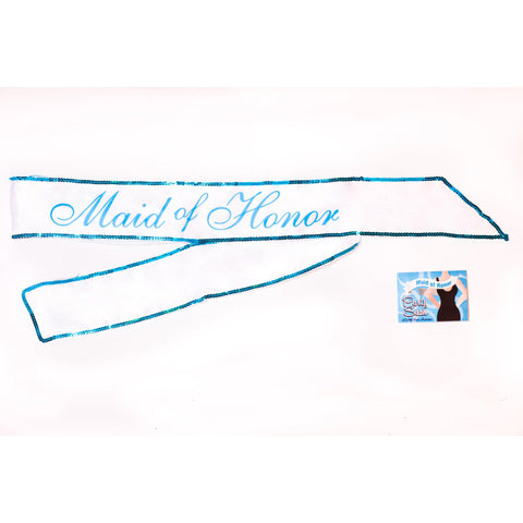 Maid of Honor Party Sash LG-NV031