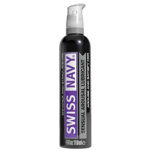 Swiss Navy Sensual Arousal Lubricant - 4 Oz MD-SNAR4