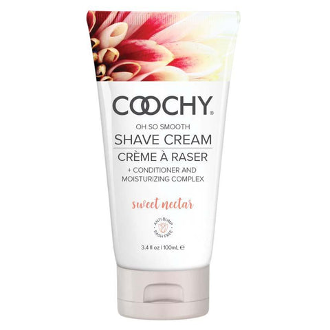 Coochy Shave Cream - Sweet Nectar - 3.4 Oz COO1006-03