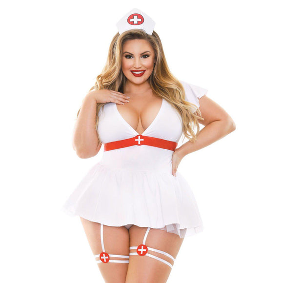 Bedside Nurse Costume Set - 1x2x FL-BP380-1X2X