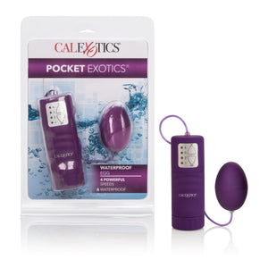 Waterproof Pocket Exotics Waterproof  Egg - Purple SE1139202