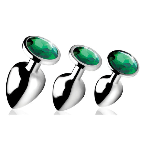 Emerald Gem Anal Plug Set BTYS-AG190