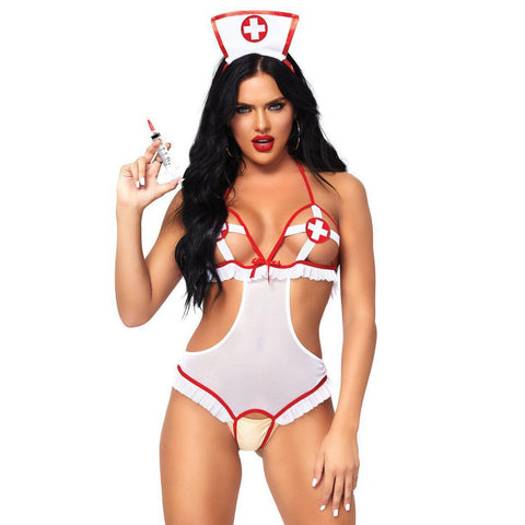 2 Pc. Naughty Nurse - One Size LA-87051