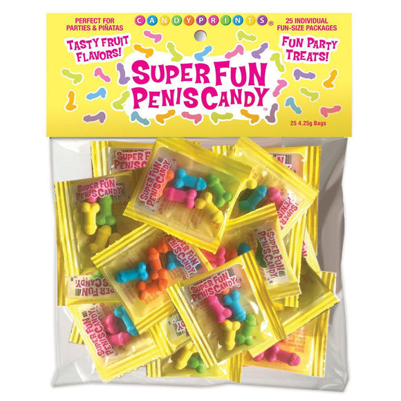Super Fun Penis Candy 25 Individual Fun-Size Packages CP-900