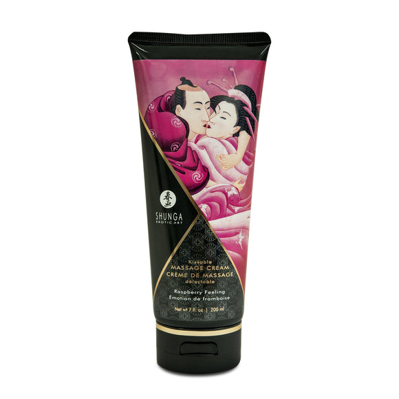 Kissable Massage Cream - Raspberry Feeling - 7  Fl. Oz. / 200 ml SHU4101