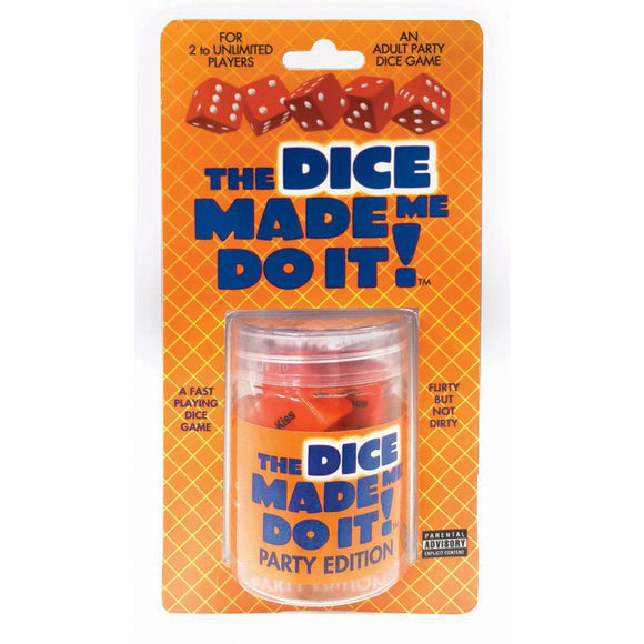 The Dice Made Me Do It - Party Edition LG-BG067