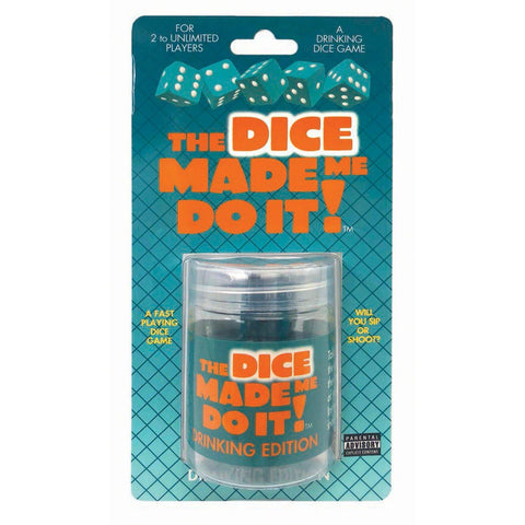 The Dice Made Me Do It- Drinking Edition LG-BG066